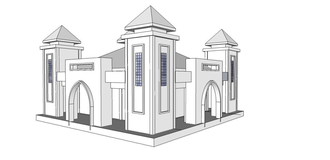 93 Gambar Gambar Masjid Yang Mudah Paling Bagus